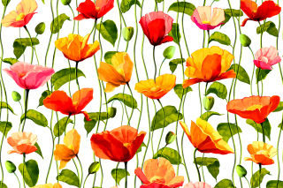 Floral Pattern Wallpaper for Android, iPhone and iPad
