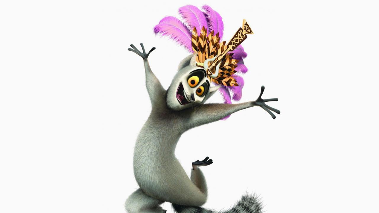 Lemur King From Madagascar