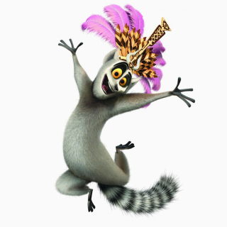 Lemur King From Madagascar Wallpaper for iPad mini