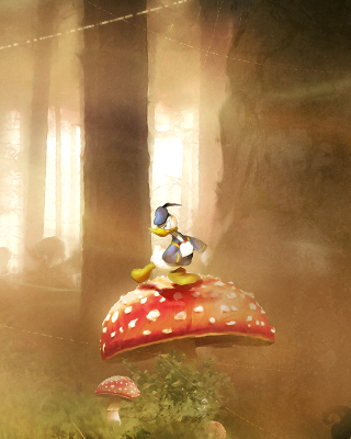 Mickey Mouse and Donald Duck Wallpaper for Nokia C5-06