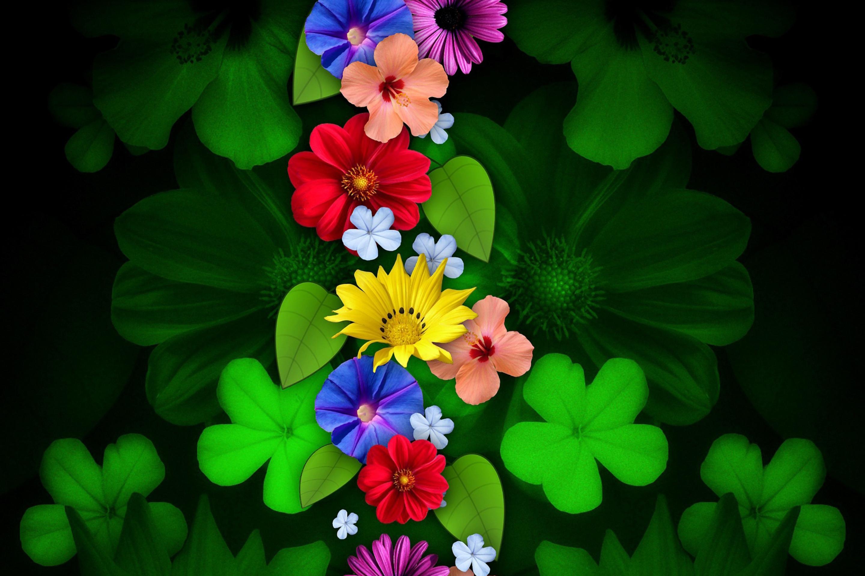 Обои Цветы На Телефон Андроид Скачать