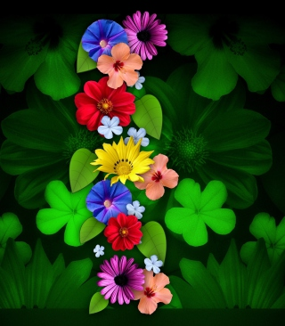 Flowers Background for Nokia C1-01