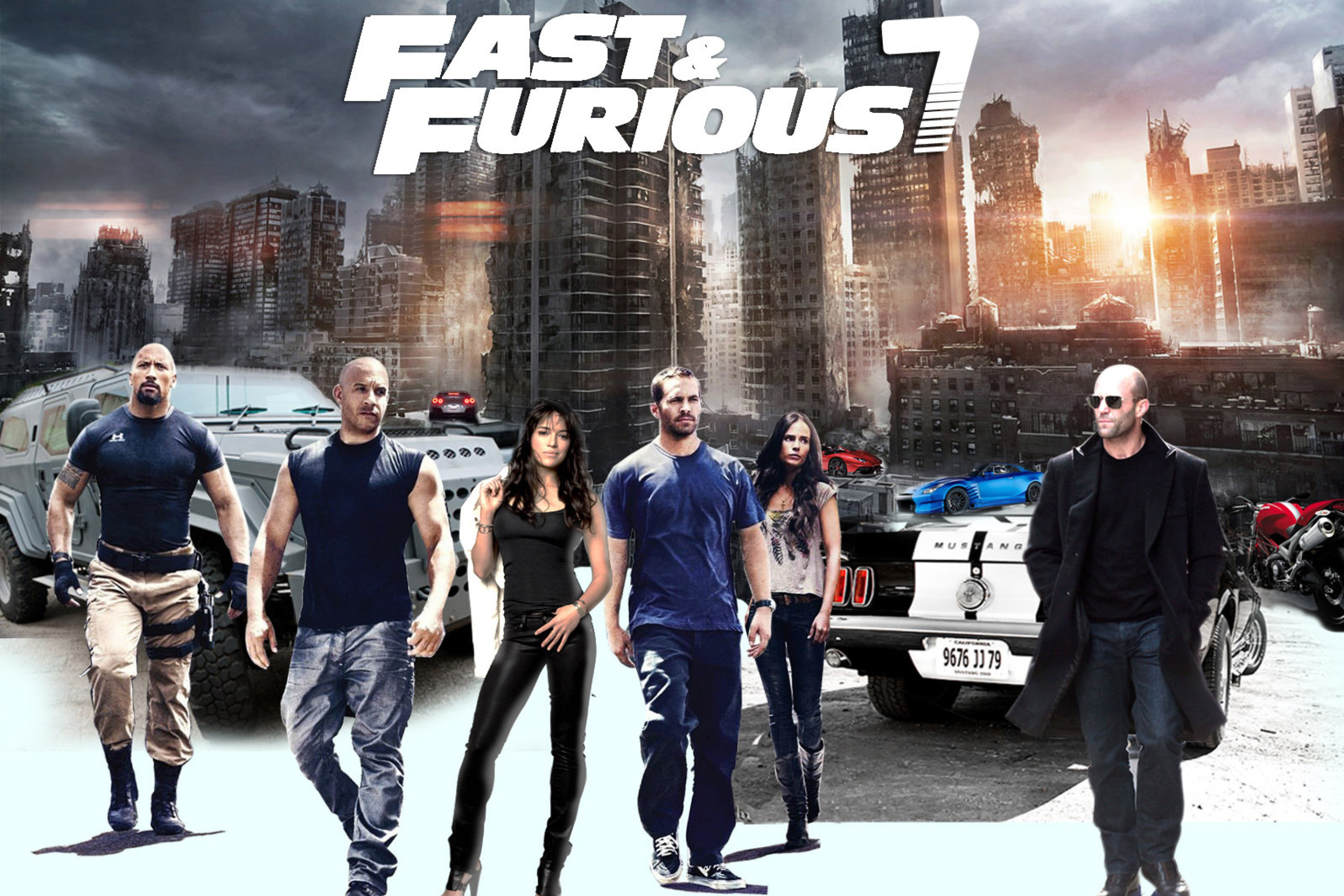 fast and furious 7 - HD1920×1408