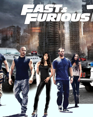 Free Fast Furious 7 Picture for Nokia Asha 311