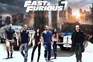 Fast Furious 7 Background for Android, iPhone and iPad