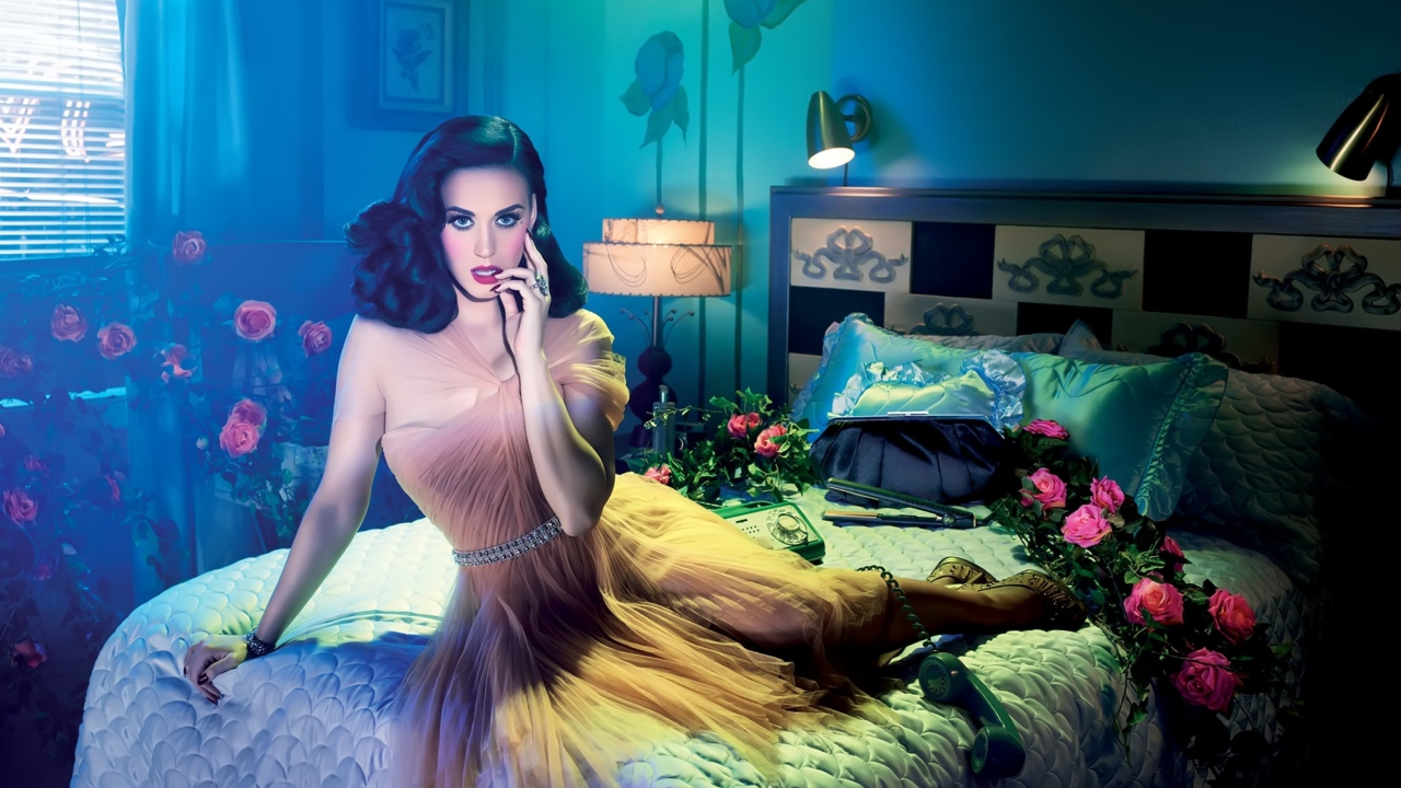 Katy Perry By David Lachapelle