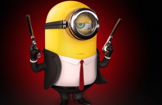 Free Minion Assasin Picture for Android, iPhone and iPad