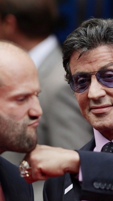 Screenshot №1 pro téma Jason Statham and Sylvester Stallone 360x640