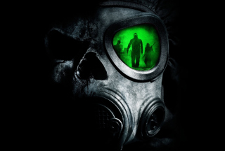 Army Gas Mask Background for Android, iPhone and iPad