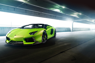 Lamborghini Aventador Lp-740 Vorsteiner Picture for Android, iPhone and iPad