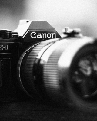 Ae-1 Canon Camera Background for 240x320