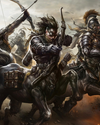 Centaur Warriors from Mythology Wallpaper for iPhone 6 Plus