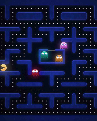 Pacman Best 90 Game Background for Nokia C1-01