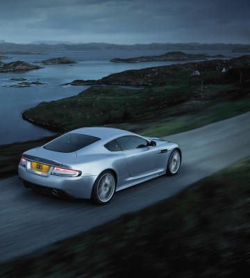Screenshot №1 pro téma Aston Martin Dbs Evening Ride 360x400