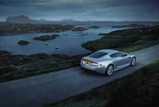 Aston Martin Dbs Evening Ride Picture for Android, iPhone and iPad