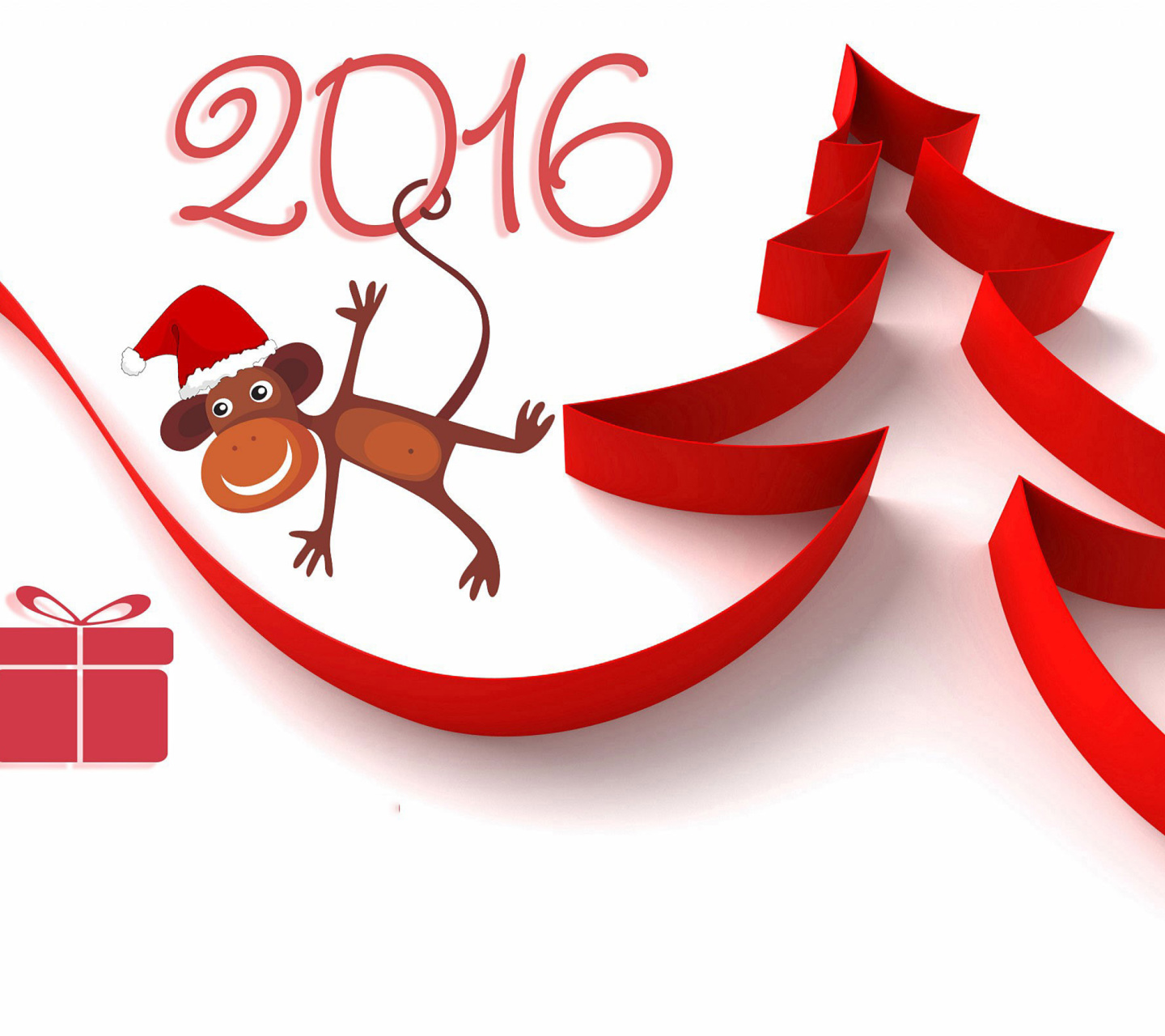 New Year 2016 of Monkey Zodiac wallpaper 1440x1280