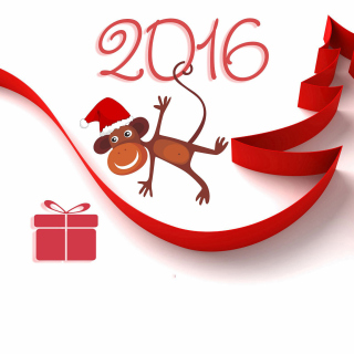 New Year 2016 of Monkey Zodiac Picture for iPad 3