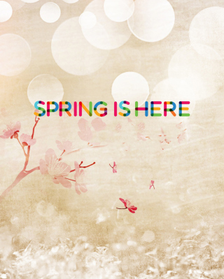 Spring Is Here Picture for 480x800