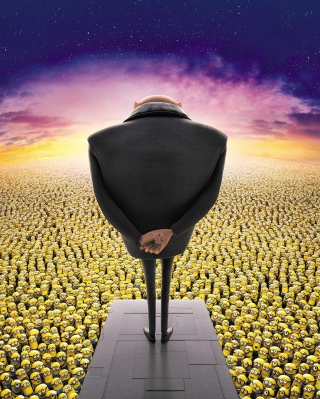 Free Despicable Me 2, Gru, Minions Picture for Nokia C1-01