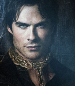 The Vampire Diaries - Ian Somerhalder Background for iPhone 6 Plus