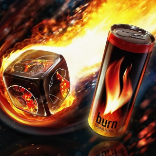 Burn energy drink Picture for 208x208