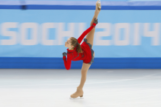 Yulia Lipnitskaya Ice Skater Sochi 2014 Picture for Android, iPhone and iPad