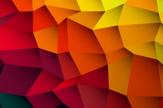 Stunning Colorful Abstract papel de parede para celular para Nokia Asha 201