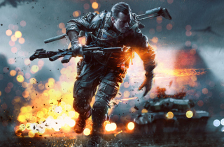 Battlefield 4 China Rising Picture for Android, iPhone and iPad