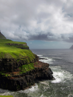 Screenshot №1 pro téma Faroe Islands 240x320