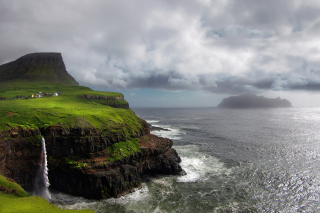 Faroe Islands Background for HTC Wildfire