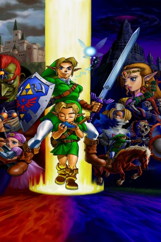 The Legend of Zelda: Ocarina of Time para Huawei G7300