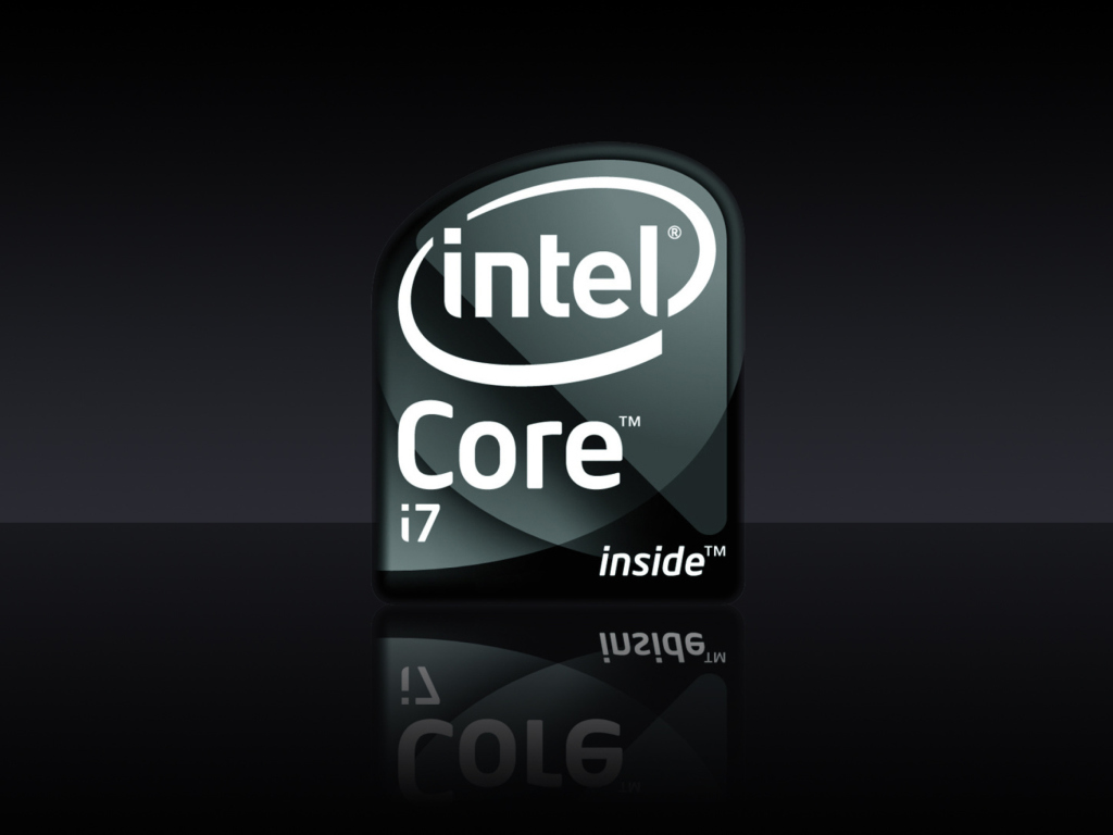 Intel Core I7 wallpaper 1024x768