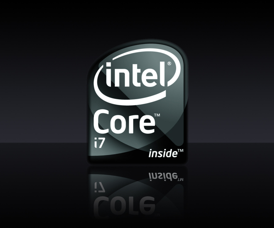 Intel Core I7 wallpaper 960x800