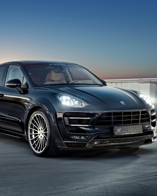 Porsche Macan S Hamann Background for Nokia C1-01