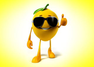 Free Funny Lemon Picture for Android, iPhone and iPad
