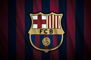 Free FC Barcelona Logo Picture for Samsung Galaxy S5