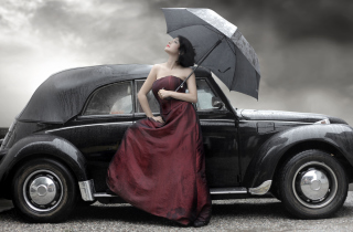 Classic Car Background for Android, iPhone and iPad