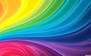 Abstract Rainbow Wallpaper for Android, iPhone and iPad
