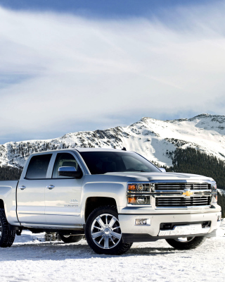 Chevrolet Silverado High Country sfondi gratuiti per iPhone 6 Plus