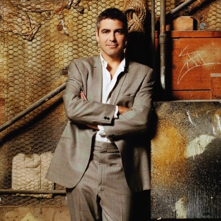 George Clooney Background for iPad 2