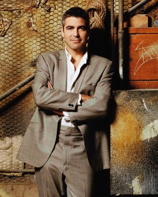George Clooney Wallpaper for Nokia Asha 306