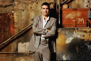 George Clooney Background for Android, iPhone and iPad