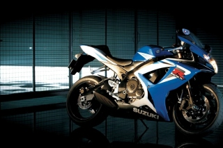 Suzuki GSXR 750 Background for Widescreen Desktop PC 1920x1080 Full HD