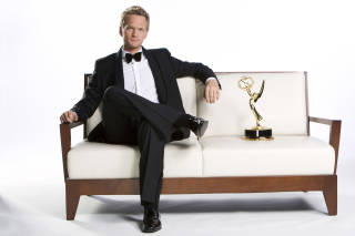 Neil Patrick Harris with Emmy Award Picture for Android, iPhone and iPad