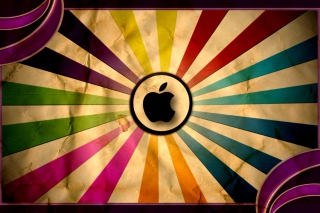 Colorful Apple Background for Android, iPhone and iPad