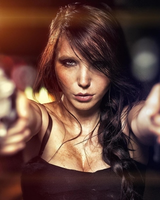 Free Killer girl Picture for iPhone 6 Plus