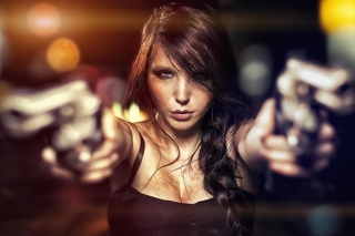 Killer girl Background for Android, iPhone and iPad