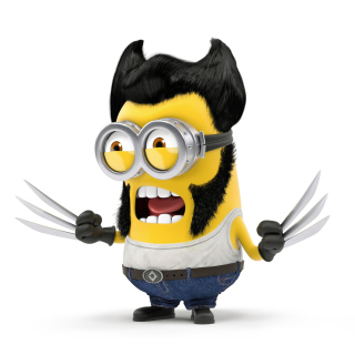 Wolverine Minion Background for LG KP105