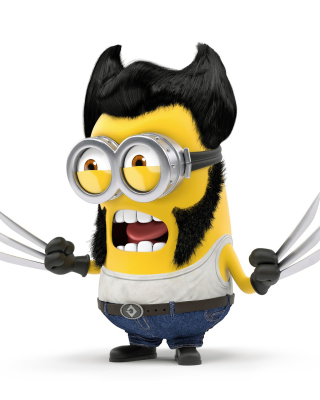 Free Wolverine Minion Picture for Nokia C1-00