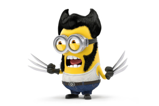 Free Wolverine Minion Picture for Android, iPhone and iPad